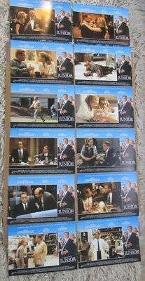 Junior Movie Poster Lobby Card Set Of (12) 1994 Original 11X14 Danny Devito