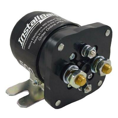 The Install Bay IB500 500 Amp Power Relay High Current Battery Isolator for 12V