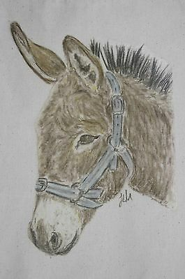 Donkey and Horse bags Cotton or Canvas 3 sizes and 4 different designs