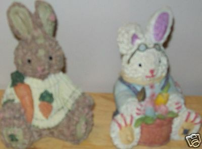 Cute Easter Style Bunnies