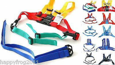 SAFETY HARNESS Baby Kid Toddler Learning Assistant Moon Walk Walker Reins UK