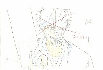 Anime Genga not Cel Production Art Bleach #389
