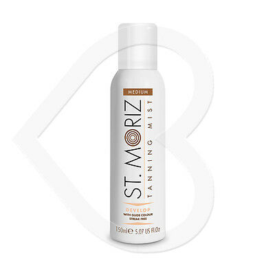 St Moriz Instant Self Tanning Mist Spray Medium 150ml