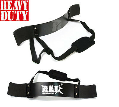 RAD™  New Arm Blaster Body Building Bomber Bicep Curl Triceps Muscle Builder