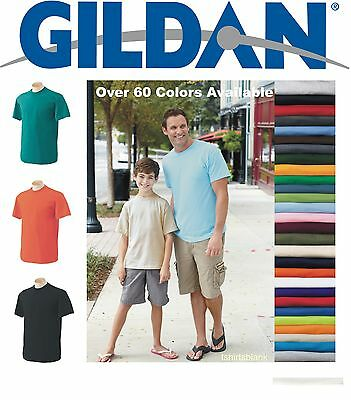 T-SHIRTS BLANK BULK LOTS Colors or White S-XL Wholesale lot
