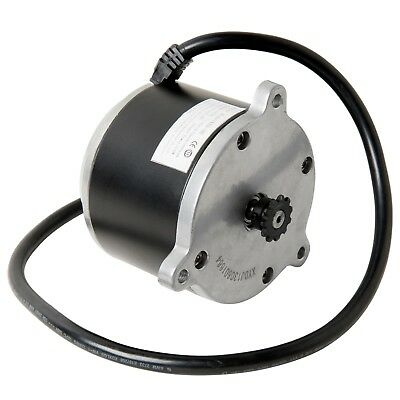 24 Volt 500 W Electric Motor w 11 Tooth #25 Chain Sprocket Currie Technologies