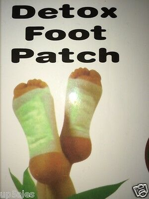 Detox Foot Slim Pads Clear your Toxins Over Night AUS SUPPLIER Quick Post   P34