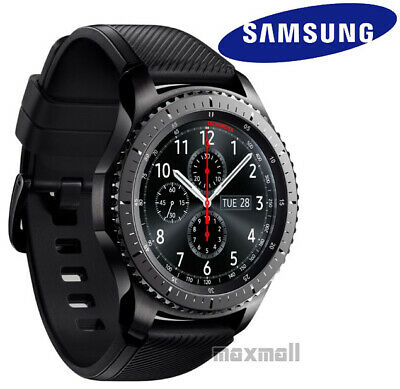 [*Fast Dispatch] Samsung Gear S3 Frontier Bluetooth Smart Watch + 2 ScreenGuards