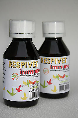 NEW !!! RESPIVET immuno - 100 % NATURAL ... for PIGEONS