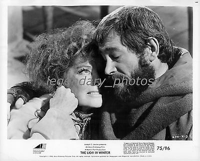 1968 The Lion in the Winter Movie Press Photos (2) Katharine Hepburn Peter O'Too