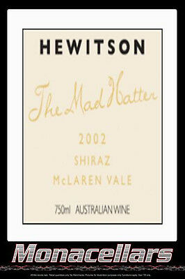 Hewitson The Mad Hatter Shiraz 2002 750ml