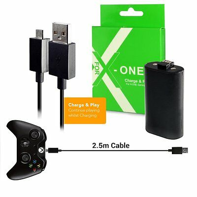 Twitfish Charge Play Kit for X-ONE Gaming Controller - XBOX 1 IN STOCK