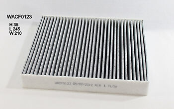 Wesfil Cabin Air Pollen Filter WACF0123 fits Ford Mondeo 2.0 TDCi (MA,MB),2.3...
