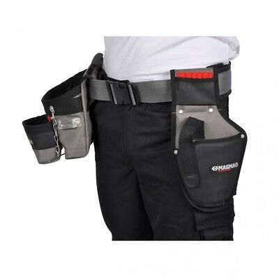 MA2735 -Professional Toolbelt Set c/w Padded Belt, Drill Holster, Tool Pouch C.K