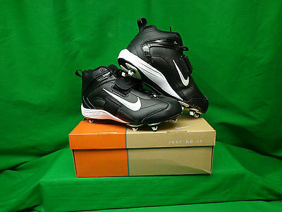 New Nike Open Field 3/4 3E Size 10 Black/White 307366 011 NEW WITH BOX