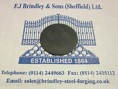 3 x Mild Steel Profiled Cut Discs 100mm diameter x 5mm thick Pack of 3