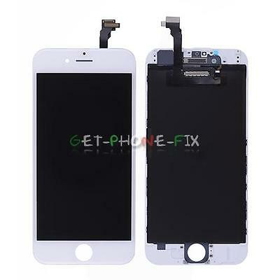 LCD Lens Touch Screen Display Digitizer + Frame Assembly For iPhone 6 white