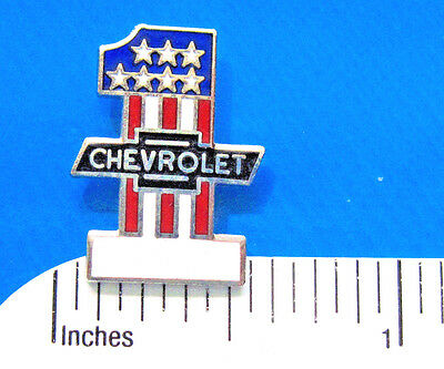 #1 CHEVROLET - hat  pin ,  lapel pin , tie tac , hatpin  gift boxed