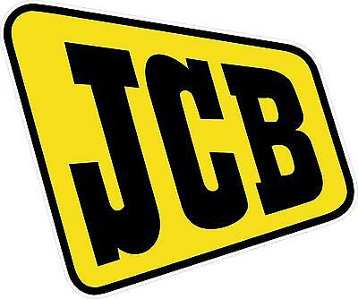 "Jcb Equipment Decal / Sticker - 5"" X 4.25"" - Set Of 2"