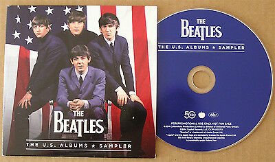 The Beatles U.S. Albums Sampler Promo-Only 25-track CD In Custom Picture Sleeve