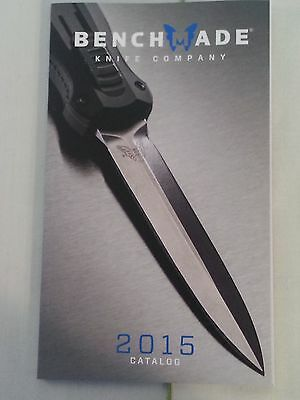 Benchmade Knives 2015 Catalog Booklet / New 80 Pages