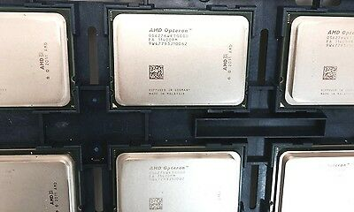 Lot of 2 AMD Opteron 6276 16 Core 2.30GHZ Processor OS6276WKTGGGU Socket G34