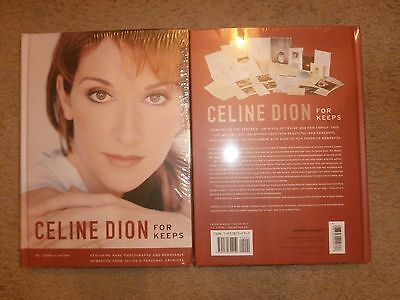Celine Dion Rare For Keeps Collectors Book New And Sealed