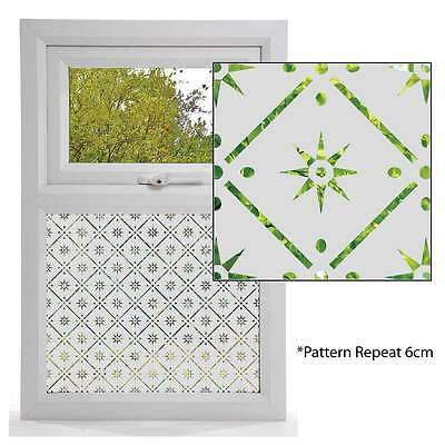 Etched Glass Effect Window Film, Victorian Styles, Window Pattern CLASSIC DESIGN