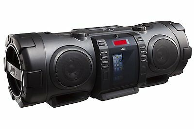 JVC RVNB75BE  Powered Woofer CD System Boomblaster