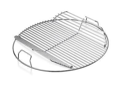 """Weber Replacement Hinged Cooking Grate for 22"""" Kettle Grill"""