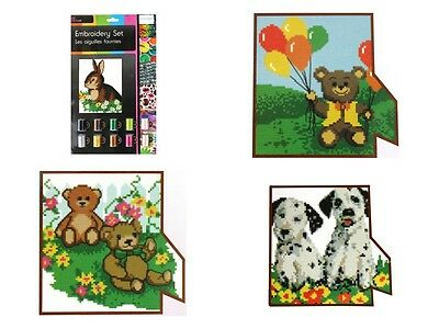 Embroidery by Numbers Set - 4 to choose from
