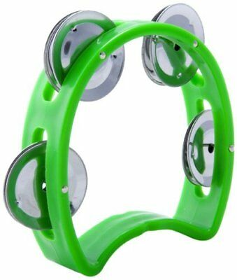D'Luca TW-4GR Child's Tambourine 4 Inches Green, TW-4GR