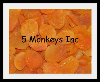 Dried Apricots ~  Kosher Certified~  Fruits ~ Treats Food ~ 4 or 8 Ounces