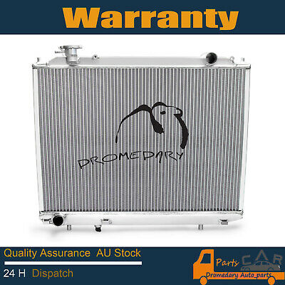 PREMIUM RADIATOR FOR HOLDEN VT VX COMMODORE V6 '97-'02 AT/MT Dual Oil Cooler