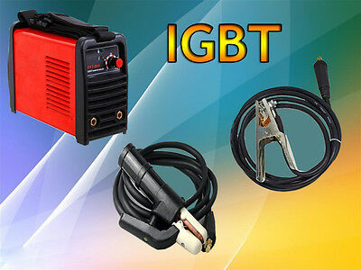 IGBT 200A ARC/MMA Welding Machine ZX7-200 220V And Provide Clamp + Holder+ cable
