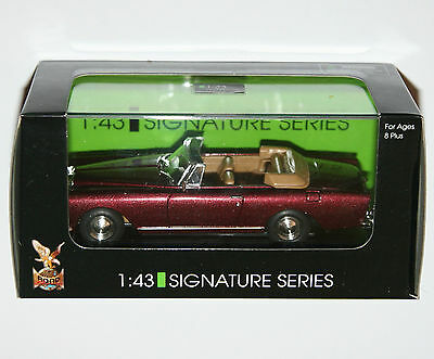 Road Signature - BENTLEY S2 CONTINENTAL DHC (Burgundy) - Model Scale 1:43