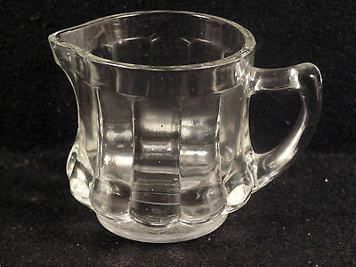 Vintage Post Cereal Advertising Glass Creamer Measuring Cup. c.1940's