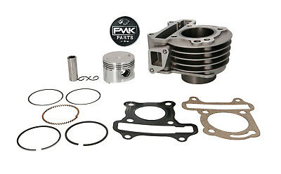 50cc 39mm 4T Cylinder Barrel Kit GY6 139QMB Scooter Peugeot V-Clic VClic