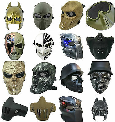 Tactical Safety Airsoft Mask Hunting BB Masks Different Styles Great Quality