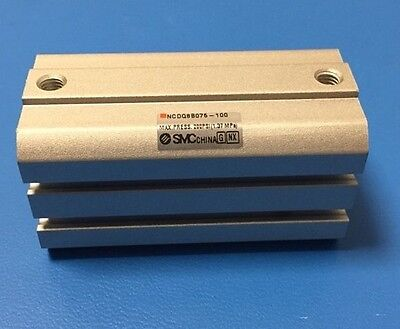 Smc Ncdq8B075-100 Pneumatic Double Acting Cylinder