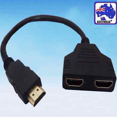 HDMI Cable Adapter Video Television Male Female Converter Splitter EVHDM 1252