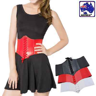 Women Girl Lady Wide Elastic Belt Wrap Corset Adjustable Stretch Waist CBELT 70