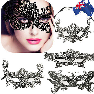Lady Masquerade Lace Mask Butterfly Queen Fox Party Ball Fancy Eyes JMASK 79