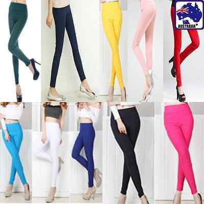 Pencil Leggings Pants Candy Stretchy Slim Trousers Skinny Jeans Women CPANT 96