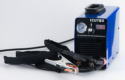60A plasma cutter 110/220V inverter DC plasma cutting & AG60 Torch & consumables