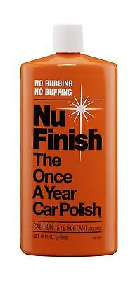 Nu Finish Car Polish. Apply it only once a year for complete protection - NEW