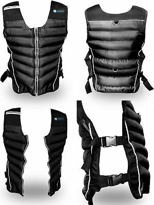 BodyRip Weighted Vest 5kg Jacket Strength Training Running Weight Loss Gym Fit