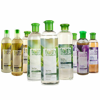 Faith in Nature Shampoing & Revitalisant 400ml Cheveux