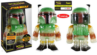 Star Wars Starshine Glittered Boba Fett Funko Hikari Figure Limited 1200 SEALED