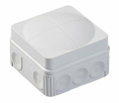 108/5 Grey -  IP66 Weatherproof Outdoor Junction Connection Box with Connector